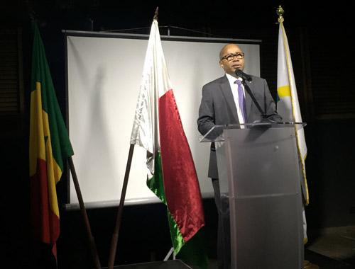DISCOURS de l'ambassadeur de Madagascar, prononcé au dîner de la Francophonie